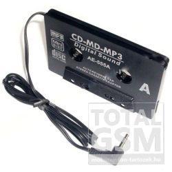 LP CD-MD-MP3 Autós Kazetta Adapter AE-555A