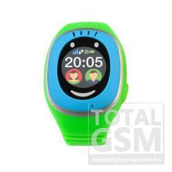 MyKi Touch GPS / GSM érintőkijelzős okosóra Kék-Zöld