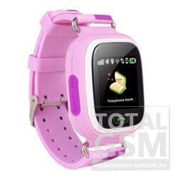 Gyermek okosóra GPS-sel Pink Q90