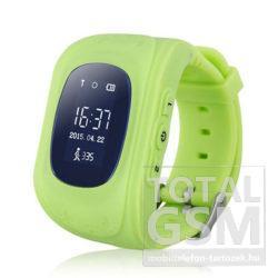 Gyermek okosóra GPS-sel Zöld Q50