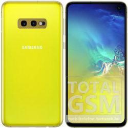 Samsung G970F Galaxy S10E Dual Sim 128GB Sárga Mobiltelefon