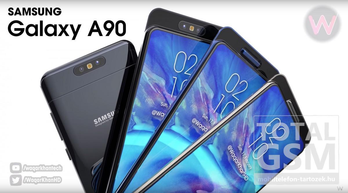 Samsung Galaxy A90 Új Kártyafüggetlen Mobiltelefon www.mobiltelefon-tartozek.hu