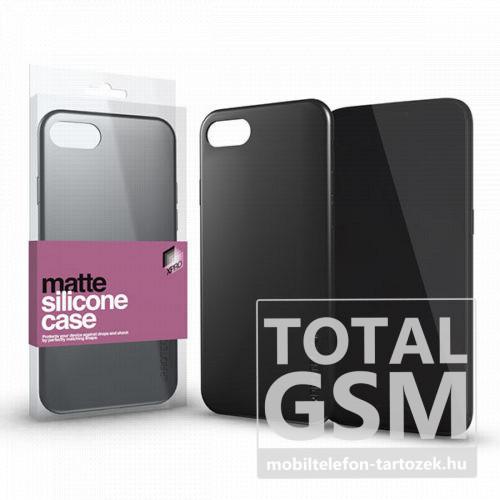 Huawei P30 Fekete Matt Szilikon Tok