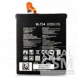 LG BL-T34 gyári akkumulátor Li-Ion Polymer 3520 mAh (V30 (H930))