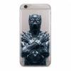 Marvel szilikon tok - Fekete Párduc 012 Samsung G975F Galaxy S10 Plus átlátszó (MPCBPANT3704)
