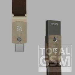 ADAM elements ROMA Series 128GB USB-C USB3.0 Flash Drive, arany
