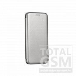 Apple iPhone 11 Pro Max (6.5) Forcell Elegance oldalra nyíló mágneses notesz flip tok szilikon belsővel szürke