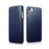 Huawei P30 Pro Forcell Elegance oldalra nyíló mágneses notesz flip tok szilikon belsővel kék