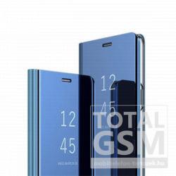 Xiaomi Redmi Note 7Clear View kék oldalra nyíló okos flip tok