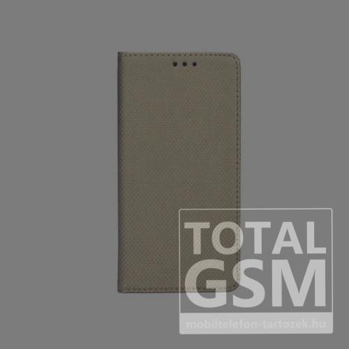 Samsung N975 Galaxy Note 10 Plus Arany Kockás Oldaltnyitós Notesz Flip Tok