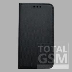 Samsung N975 Galaxy Note 10 Plus Fekete Kockás Oldaltnyitós Notesz Flip Tok