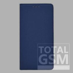 Samsung N975 Galaxy Note 10 Plus Kék Kockás Oldaltnyitós Notesz Flip Tok