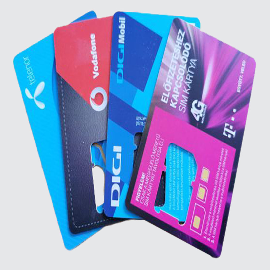 SIM Kártyák