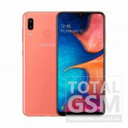 Samsung A205F Galaxy A20 Dual Sim 32GB (2019) Narancssárga Mobiltelefon