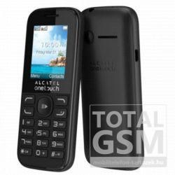 Alcatel Onetouch 1052G Fekete Mobiltelefon