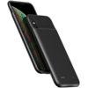 Apple iPhone XS MAX USAMS Fekete 4000mAh Akkumulátoros Hátlap