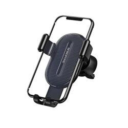 Borofone Szellőszőrácsra Szerelhető Gravitációs Autós Tartó Fekete BH11.